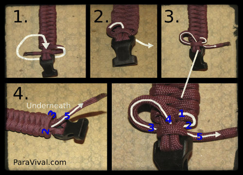 Fishtail Weave Tutorial Pic 10 - ParaVival.com