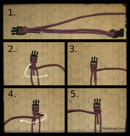 How To Make A Fishtail Paracord Bracelet Paravival