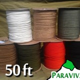 50ft ParaVivall.com MIL-C-5040H Type III 550 Paracord