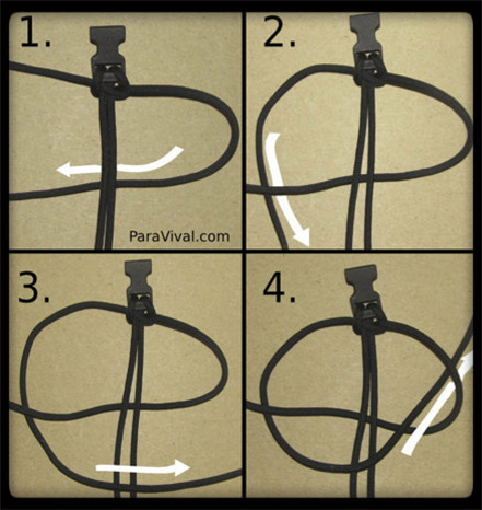 One Color Cobra Weave Tutorial Pic 7 Paravival