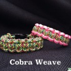 ParaVival.com Custom Paracord Bracelet Party with Cobra Weave