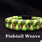 ParaVival.com Custom Paracord Bracelet Party with Fishtail Weave
