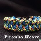 ParaVival.com Custom Paracord Bracelet Party with Piranha Weave