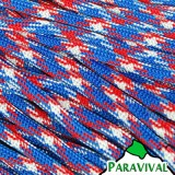 Paravival.com Red White Blue 550 Cord