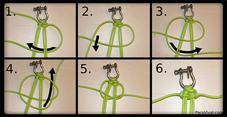 How to Make a Quick Release Paracord Bracelet with Shackle