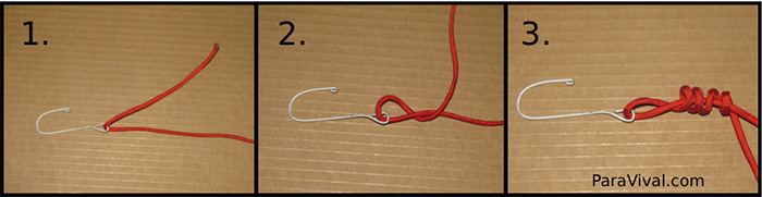 Improved Clinch Knot Tutorial Pic 1 - ParaVival.com