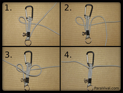 Paracord Keychain Tutorial Pic 3 - ParaVival.com