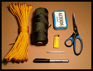 Paracord Pouch Tutorial Needs - ParaVival.com