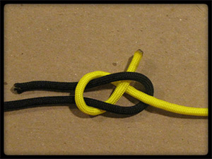 Sheet Bend Knot Tutorial Pic - ParaVival.com