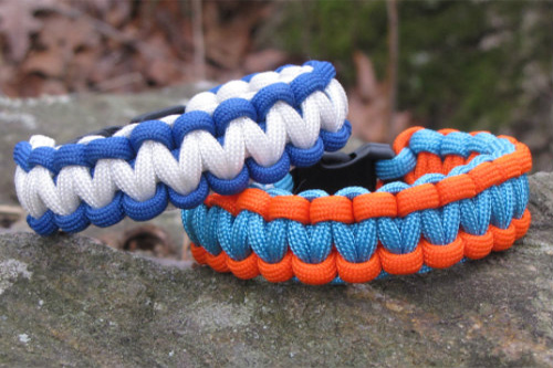 Paracord Two Color Cobra Weave