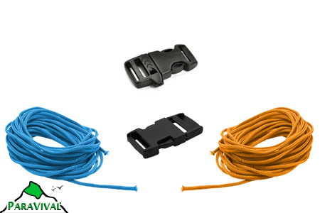 2 Buckle Paracord Kit - ParaVival.com