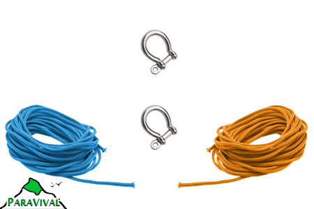 2 Shackle Paracord Kit - ParaVival.com